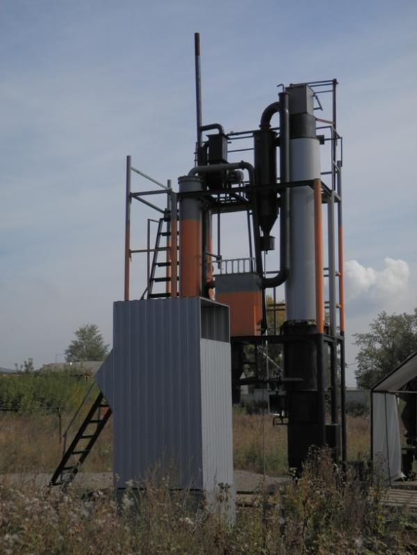 Пиролизная утановка УТР-2